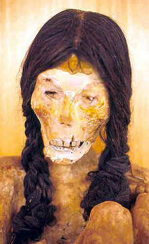 Mummy of Padre Le Paige Museum