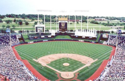 Overview of Kauffman Stadium